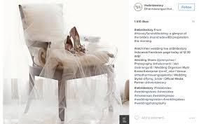 Wedding Shoes Indonesia Foto Foto Pernikahan Dongeng Ala Sandra Dewi Dan Harvey Moeis