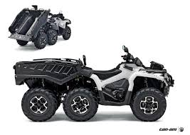 can am outlander 6x6 all terrain vehicle atv u0027s pinterest