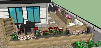 Design For Decks With Roofs Ideas Rooftop Deck Design Service Montreal Outdoor Living