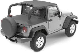 white jeep wrangler 2 door bestop duster u0026 windjammer summer combo in black diamond