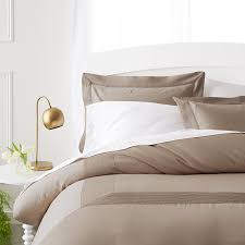 mocha bedding on