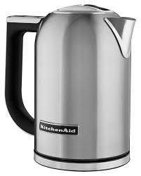 kitchenaid kek1722sx 1 7l electric kettle silver kek1722sx best buy
