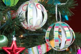 just deanna easy paper globe ornaments