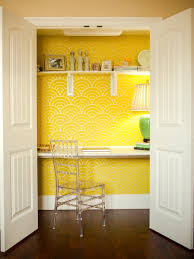 Pictures Of Organized Home Offices HGTV - Closet home office design ideas