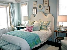 combination of white and turquoise home decor