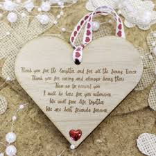friendship heart heart shaped friendship plaque wood gifts