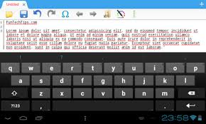 android text editor free android text editor 920 text editor