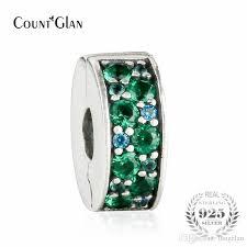 pandora sterling silver clip bracelet images 2018 fit pandora bracelet green mosaic shining elegance spacer jpg