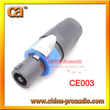 4p speakon connectors for cable 4p speakon neutrik nl4fx from