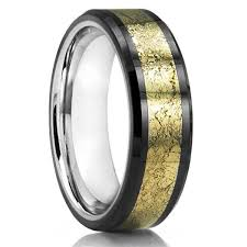 wedding ban men s tungsten wedding ban men tungsten ring meteorite wedding