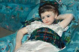Madame Cezanne In A Red Armchair Mary Cassatt Little In A Blue Armchair U2013 Smarthistory