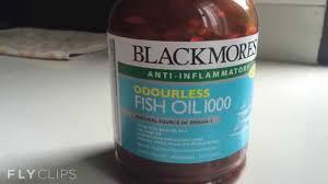 jual minyak ikan blackmores odourless fish 1000mg vitamin