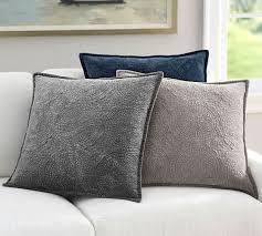 pottery barn velvet pillow 26 best office images on