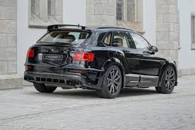 bentley custom official 700hp bentley bentayga by mansory gtspirit