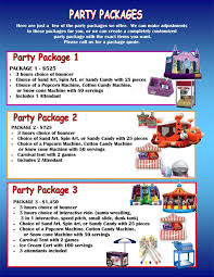 snow cone rental party package rentals nj ny
