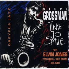 cecil mcbee steve grossman time to smile feat elvin jones tom harrell