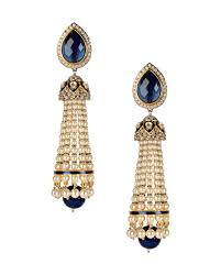 Chandelier Earrings Earrings Royal Blue Chandelier Earrings Buy Love Bird Earrings Online