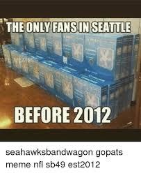 Seahawks Bandwagon Meme - 25 best memes about seattle seahawks meme and memes