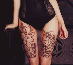 10 least painful places to get a tattoo for girls herinterest com