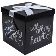 gift boxes with lids amazon com