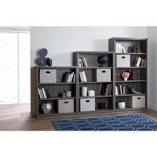 Bookcase Maple South Shore Morgan Gray Maple Open Bookcase 10154 The Home Depot