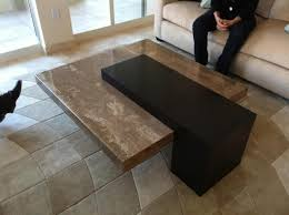 coffee table exciting granite coffee table ideas square marble