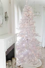 secrets and tips for decorating white trees shabbyfufu