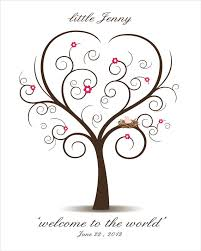 baby shower fingerprint tree wedding guest book wedding tree guest book fingerprint guest