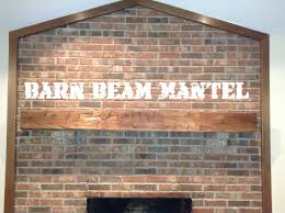 how to install a fireplace barn beam mantel french cleat youtube