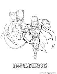 love coloring pages printable batman catwoman valentine heart coloring pages printable