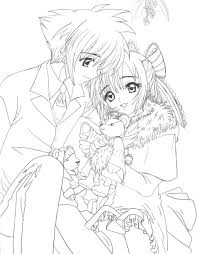 cute manga coloring pages anime girl coloring pages kulhanbeyi co