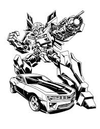 Awesome Bumblebee Car Image Coloring Pages Best Place To Color Bumblebee Coloring Pages