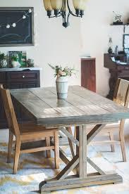 Anthropologie Dining Room Diy Farmhouse Dining Table Eva Ennis Creative