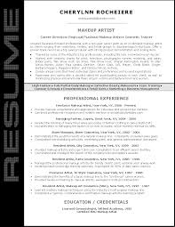 how to make a resume for mac cosmetics free resume example and