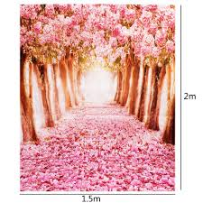photography background mohoo 5x7ft silk photography backdrop cherry blossoms