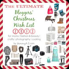 the christmas wish list the ultimate christmas wish list 2013