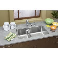 Elkay Lustertone ELUHAQD  Double Bowl Undermount - Elkay kitchen sinks reviews