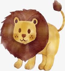 hand painted cute lion vector png lion disney u0027s lion king