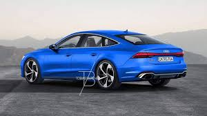 new audi rs7 coming in late 2018 e tron version with 700 hp to