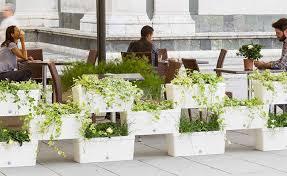Watering Vertical Gardens - stacked planter boxes u003d easy freestanding vertical garden