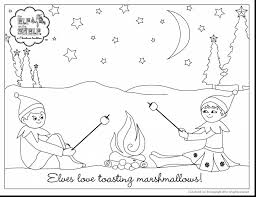 printable elf on the shelf coloring pages alphabrainsz net