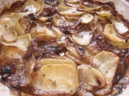 hearty french potato casserole pommes de terre boulangère