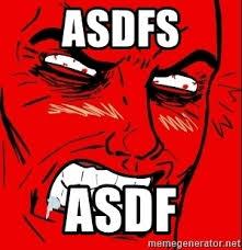 Rage Face Meme Generator - asdfs asdf rage face meme generator
