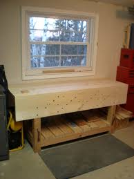 Bench Holdfast Nicholson Workbench Part 4 Finale Village Custom Furniture
