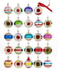 kurt adler set of 24 early years mini ornaments