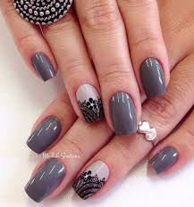 Nail Art Lace Design 65 Winter Nail Art Ideas Art And Design