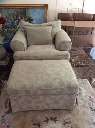 Oversized Armchair With Ottoman Oversized Chair With Ottoman Chair Dimensions 45 Inches X 42