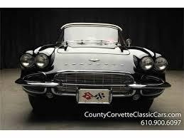 vintage corvette for sale 1961 chevrolet corvette for sale on classiccars com