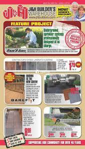 Laminate Flooring Builders Warehouse J U0026h Builder U0027s Warehouse Flyers