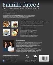 recettes de cuisine 2 livre famille futée 2 175 recettes santé à moins de 5 par